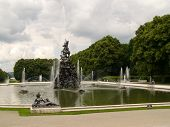 Fountain by Herrenchimsee castle II