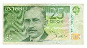 25 Kroon Bill van Estland, 1991