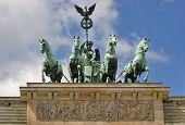 Brandenburg Gate Detail