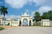 North gate of Mysore Maharajah's palace (India)
