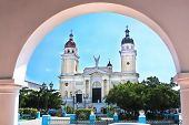 stock photo of senora  - Cathedral de Nuestra Senora de la Asuncion in Santiago de Cuba - JPG