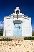 San Rafael church on very small island Cayo Granma near the Santiago de Cuba, Cuba