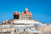 Memorial de Swami Vivekananda, Mandapam, Kanyakumari, Tamil Nadu, Índia