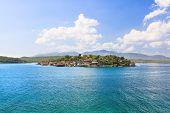 Fantasia pequena ilha Cayo Granma perto de Santiago de Cuba, Cuba