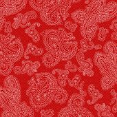 Background Valentine Paisley