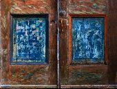 Weathered Door Panels poster