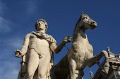 Capitoline Hill In Rome