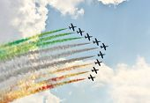 stock photo of aerobatics  - MOSCOW REGION  - JPG