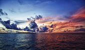 Ocean Sunset Maldives