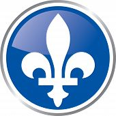 Quebec emblem.