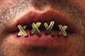 Sewn Mouth