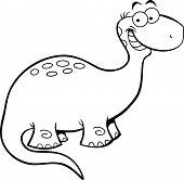 Happy Brontosaurus