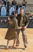 WW2 American soldiers dancing