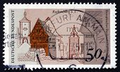 Postage Stamp Germany 1975 Architectural Heritage, Rothenburg