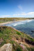 Whitesands Bay St Brides Bay Wales UK Pembrokeshire
