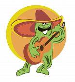 A Cactus In Sombrero