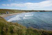 Whitesands beach Pembrokeshire West Wales UK