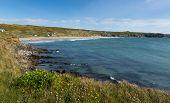 Whitesands Bay beach Pembrokeshire Wales UK