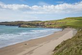 Wales Coast Pembrokeshire Whitesands Bay near St Davids