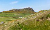 Carn Llidi overlooking Whitesands Bay Pembrokeshire near St Davids Wales