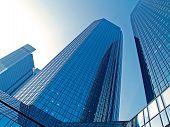 Skyscrapers In Frankfurt