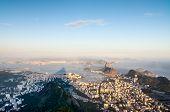 Rio De Janeiro From Corcovado, Brazil