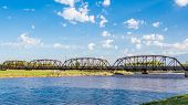 Route 66: Lake Overholsler Bridge, N. Canadian River, Yukon, OK