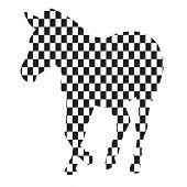 Zebra in the box