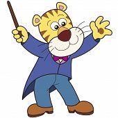 Dibujos animados tigre música Conductor