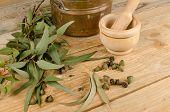 Medizinische Eukalyptus