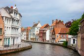 Bruges city in Belgium World Heritage Site of UNESCO