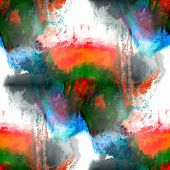art green, red hand paint background seamless watercolor  wallpa