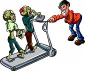 Zombies on a treadmill