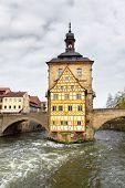 Town hall on the bridge, Bamberg, Germany