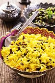 saffron rice with barberries