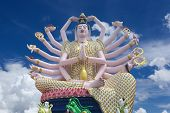 Kuan Yin Statue Is Chinese God