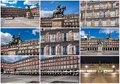 Plaza Mayor in Madrid