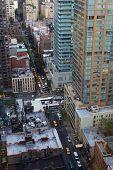 New York City Street Aerial