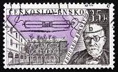 Postage Stamp Czechoslovakia 1959 Edouard Branly, Inventor
