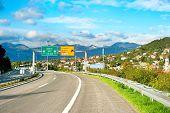 Highway In Croatia