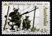 Postage Stamp Australia 1991 Siege Of Tobruk, Wwii