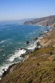California Rocky Coastline