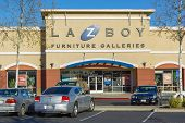 Sacramento, Usa - December 21:   La-z-boy Store Entrance On December 21, 2013 In Sacramento, Califor