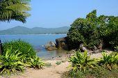 Beautiful Palolem Beach In South Goa,India