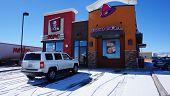 Taco Bell And KFC Restaurant