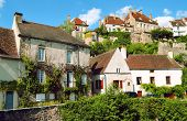 village Flavigny sur Ozerain in France