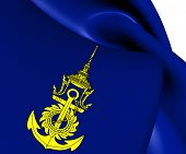 Commander-in-chief Of Royal Thai Navy Flag