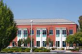 Facebook Corporate Headquarters Campus In Silicon Valley