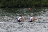Gold Meadlists In Lightweight Men's Double Sculls, European Rowing Chamionships 2014