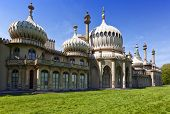 Eastern facade of the Royal pavilion at Brighton